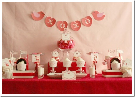 Valentines Day Table Scape