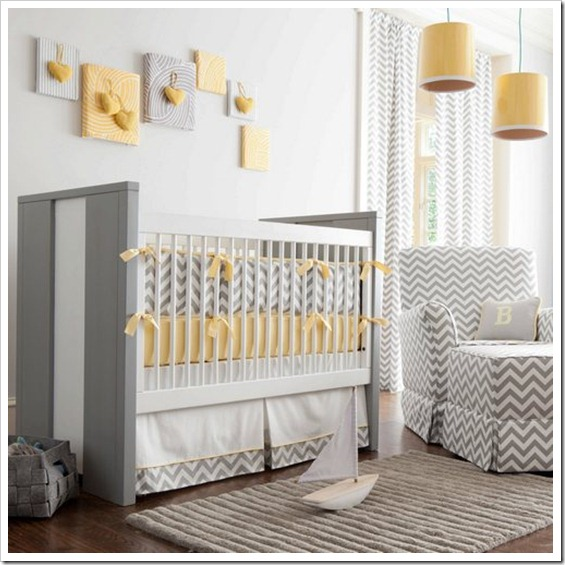gray-and-yellow-zig-zag-crib-bedding