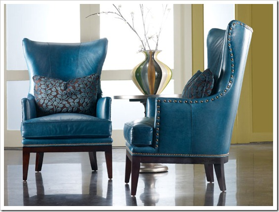 Bradington Young wing chair