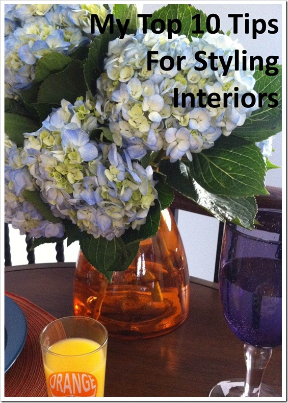 My Top 10 Tips for Styling Interiors - Residential Photo Shoot
