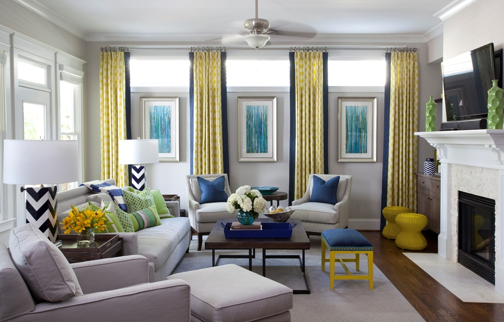Portfolio atlanta interior designer atlanta interior for Living room ideas yellow and blue