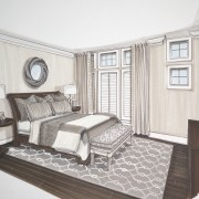 Master Bedroom - Rendering