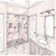 Rendering - Shower View