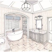 Rendering - Tub View