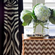 Zigzag Chevron Inlay Bombay Chest