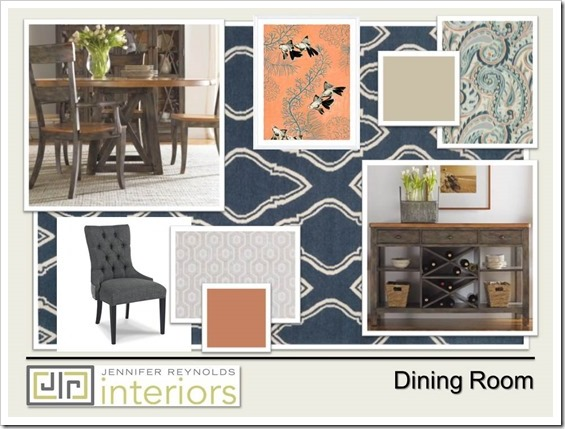 Dining Room Presentation - The Power Color Combinations