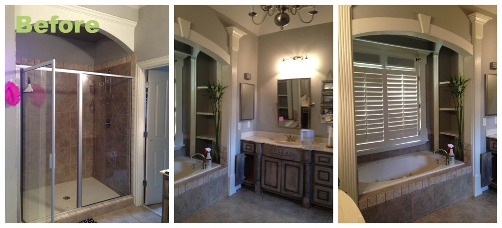 Bathroom Remodel Pics Before After before and after: a master bathroom renovation | atlanta interior
